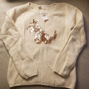 ❤2 for 30❤ NWT Gap Kids Sequin sweater